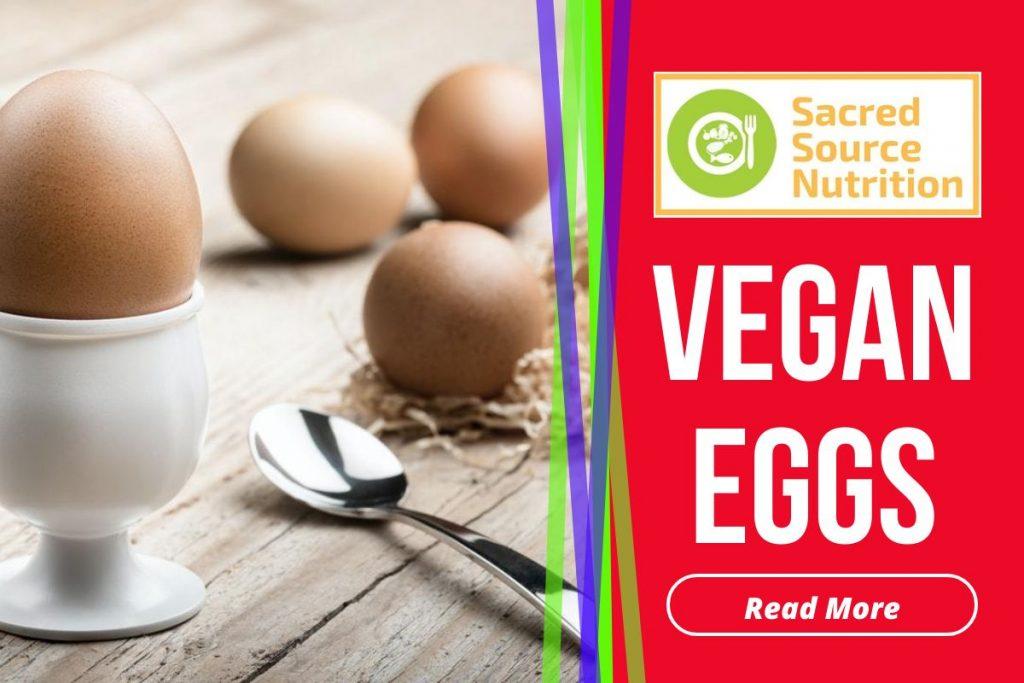 Vegan Coconut Eggs