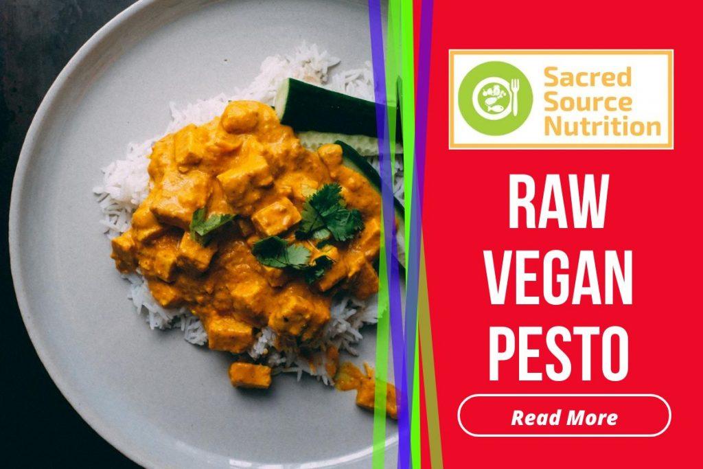 raw vegan pesto
